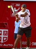 BRD Open : Joao SOUZA (BRA) vs Tommy ROBREDO (ESP) Royalty Free Stock Photo