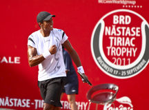 BRD Open : Joao SOUZA (BRA) vs Tommy ROBREDO (ESP) Royalty Free Stock Images