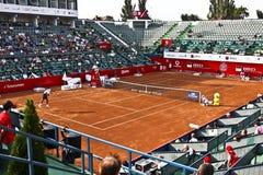 BRD Open : Joao SOUZA (BRA) vs Tommy ROBREDO (ESP) Royalty Free Stock Image
