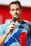 BRD Open 2013 Singles Final : Lukasz Rosol- Garcia Lopez Royalty Free Stock Images