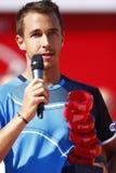 BRD Open 2013 Singles Final : Lukasz Rosol- Garcia Lopez Stock Photos