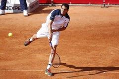 BRD Open 2013 Singles Final : Lukasz Rosol- Garcia Lopez Stock Image