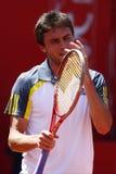 BRD Open 2013 Singles Semi-Final:Lukasz Rosol-Gill Royalty Free Stock Photo