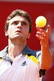 BRD Open 2013 Singles Semi-Final:Lukasz Rosol-Gill Stock Image