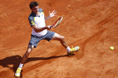 BRD Open 2013 Singles Semi-Final:Lukasz Rosol-Gilles Simon Stock Photo