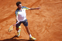 BRD Open 2013 Singles Semi-Final:Lukasz Rosol-Gilles Simon Stock Image