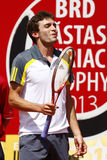BRD Open 2013 Singles Semi-Final:Lukasz Rosol-Gilles Simon Stock Photography