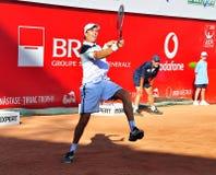 BRD Tiriac Nastase Trophy 2011. Florian Mayer (GER) vs Carlos BERLOCQ (ARG) , BNR Arena, Bucharest, 22 sept 2011.Final Score: 6-2, 0-6, 6-4 royalty free stock photo