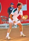 BRD Tiriac Nastase Trophy 2011. Pablo ANDUJAR (ESP) vs Marius COPIL (ROU) , BNR Arena, Bucharest, 22 sept 2011.Final Score: 6-2, 6-3 stock photography