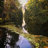 Brda Canal Stock Images