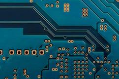 Bräde för utskrivaven strömkrets (PCB) Arkivfoto