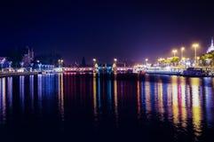 Brdge nighttime стоковая фотография rf