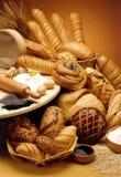 brödgrupp Arkivbilder
