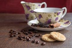 Breack del caffè Fotografie Stock