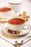 Tea in vintage cup Stock Photography