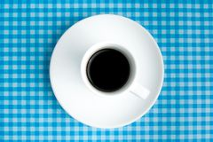 Breackfast with coffee Stock Image