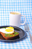 Breackfast with love Royalty Free Stock Photos
