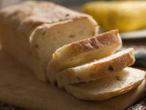 Bread 1. Grain slide bread closed up Royalty Free Stock Photography
