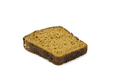 Bread. On a white background Stock Image