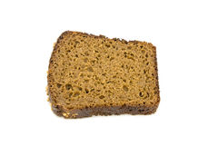Bread. On a white background Royalty Free Stock Photography