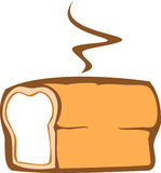 Bread. Fresh baked bread in a simple style vector illustration