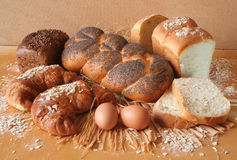 Bread. Canon 350d, bread,still life,background Stock Image