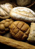 Bread. Loaves with different shapes Royalty Free Stock Photography
