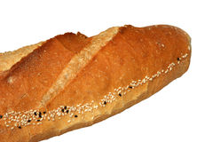 Bread. On a white background Stock Photo