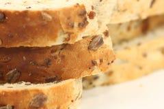 Bread. Fresh multi grain bread close up shot Stock Photography