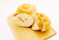 Bread. On a cutting board Stock Images