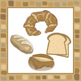 Bread. This graphic is food object Royalty Free Stock Image