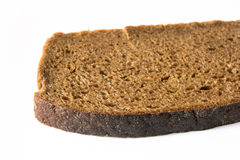 Bread. A slice of brown bread Royalty Free Stock Photography