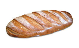 Bread. A bread isolated on a white background Stock Images