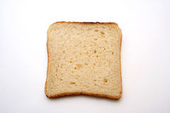Bread. Sliced bread on white background royalty free stock photography