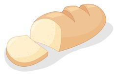 Bread royalty free illustration