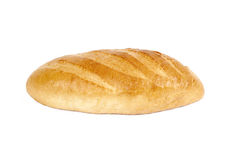Bread. Isolated on a white background Royalty Free Stock Photography