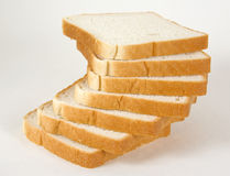 The bread. Which has been laid out in the form of a spiral staircase royalty free stock photos