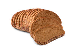 Bread. On white background.(isolated Stock Photography