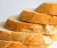 Bread. Some fresh, sliced bread on desk Stock Photo