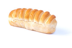 Bread. A bread on white background Stock Image