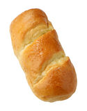 Bread. A bread on white background Royalty Free Stock Photos
