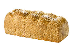 Bread. On white. This has a clipping path Stock Image