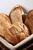 Bread. A basket of bread freshly baked Royalty Free Stock Images