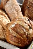 Bread. A basket of bread freshly baked Royalty Free Stock Image