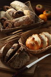 Bread. A variety of bread arranged for shot Royalty Free Stock Photos