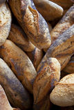 Bread. Poppy bread in a bakery stock photo