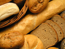 Bread. Background Royalty Free Stock Image