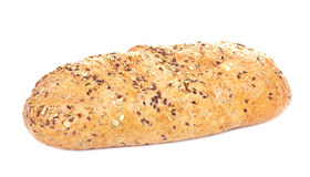 Bread. Isolated on white background Royalty Free Stock Image