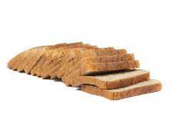 Bread. Delicious, fresh, home-made whole wheat bread Stock Photography