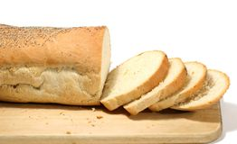 Bread. Loaf of bread Royalty Free Stock Photo